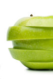 Apple sections Royalty Free Stock Photo