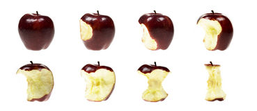 Apple series Royalty Free Stock Image