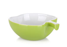 Apple shaped bowl Stock Photo