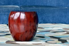 Apple shaped chair Royalty Free Stock Photo