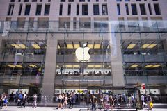 Apple shop in Sidney Stock Images