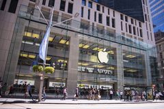 Apple shop in Sidney Royalty Free Stock Photo