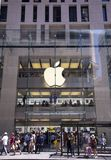 Apple shop in Sidney Royalty Free Stock Images