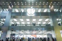 Apple shoppar Royaltyfria Bilder