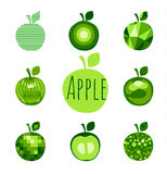 Apple sign Stock Images