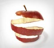 Apple skin. Photo manipulation of apple skin stock illustration