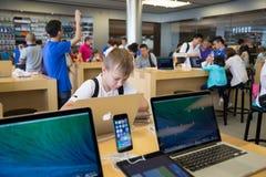 Apple sklep w Hong Kong Obrazy Stock