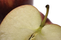 Apple Slice. Macro, Shallow DOF stock photos