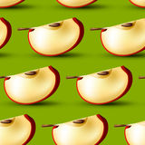Apple slice background Royalty Free Stock Photography