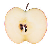 Apple sliced application Royalty Free Stock Image