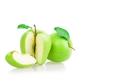 Apple sliced Royalty Free Stock Photos