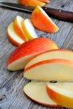 Apple sliced Royalty Free Stock Image