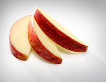 Apple sliced Stock Photo