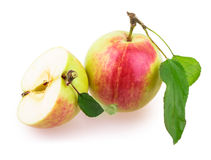 Apple sliced Royalty Free Stock Images