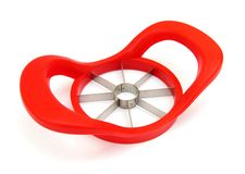 Apple slicer corer Royalty Free Stock Photo