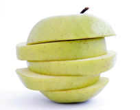 Apple slices 1 Royalty Free Stock Photography