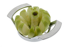 Apple in slices Royalty Free Stock Image