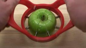 Apple Slices stock video footage