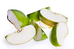 Apple Slices Royalty Free Stock Photos