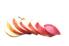Apple slices Royalty Free Stock Image