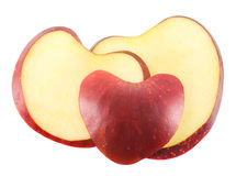 Apple slices Stock Photo