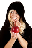 Apple smile Stock Images