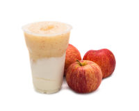 Apple smoothie Stock Image