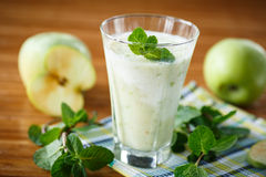 Apple smoothie Stock Images