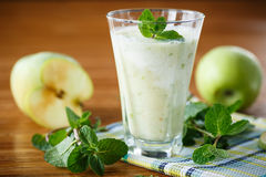 Apple smoothie Royalty Free Stock Photo