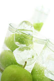 Apple in Soda Stock Images