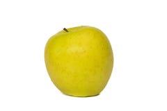 Apple som isoleras på på en vit bakgrund Arkivfoton