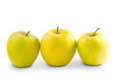 Apple som isoleras på vit bakgrund Royaltyfri Bild