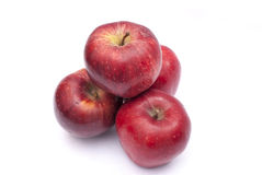 Apple. Some apples on a white background Royalty Free Stock Photo