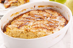 Apple souffle Stock Images