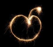 apple sparkler Στοκ εικόνα με δικαίωμα ελεύθερης χρήσης