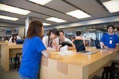 Apple-Speicher in Hong Kong Lizenzfreie Stockfotos
