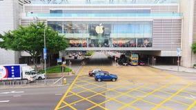 Apple-Speicher Hong Kong stock video