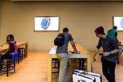 Apple speichern in San Francisco Lizenzfreies Stockbild