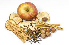 Apple and spice Stock Photo