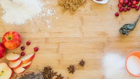 Apply Spice Holiday Baking Royalty Free Stock Image