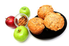 Apple Spice Muffin Stock Photography