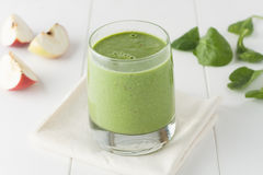 Apple spinach smothie Stock Images