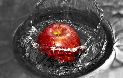 Apple splash Royalty Free Stock Photos