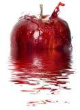 Apple splash Stock Image