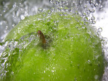 Apple splash Stock Images