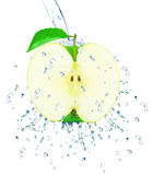 Apple splash Stock Photos