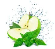 Free Apple Splash Water Royalty Free Stock Photo - 110595345