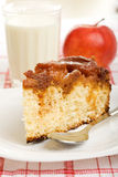 Apple sponge cake breakfast Stock Photos