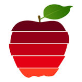 Apple, spring - vector background Royalty Free Stock Images
