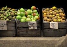 Apple-Standplatz Lizenzfreies Stockbild